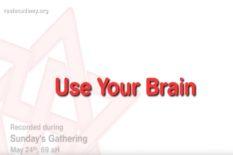 utilisez votre cerveau
