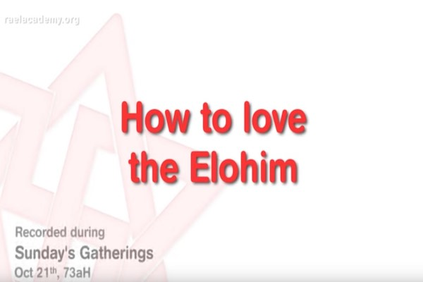 aimer les elohim