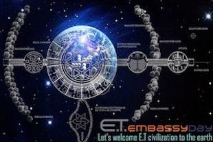construire une ambassade pour les extra-terrestres ; accueillir les Extra-Terrestres - contacts extraterrestres ambassade pour extraterrestres