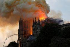 l'incendie de Notre Dame