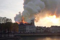 Notre Dame de Paris en flammes