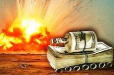 gaspillage financier des coûts de la guerre