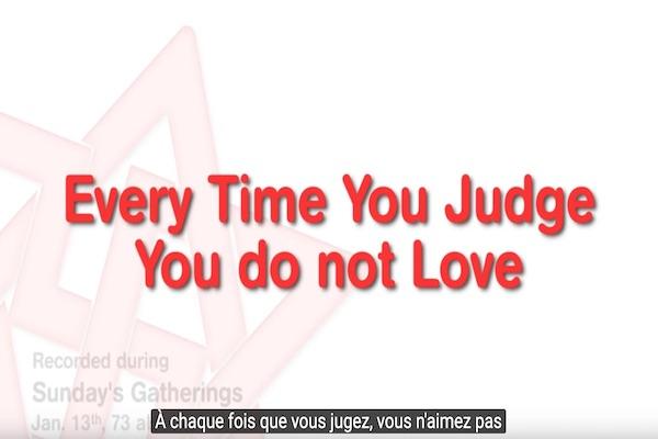 juger ne jugez pas