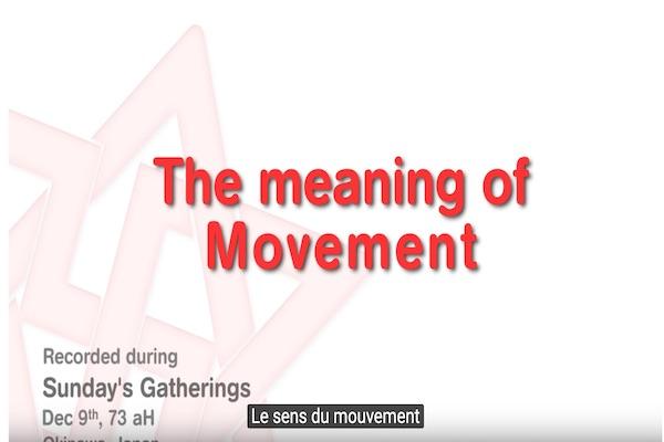 sens du mouvement