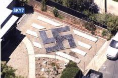 affichage de swastikas