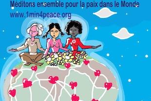 méditons pour la paix dans le monde