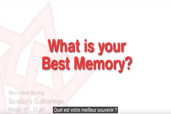 votre meilleur souvenir