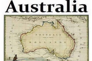 australie nouvelle-hollande