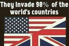 l'invasion de 98% des pays