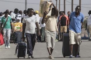 réfugiés africains en Israël