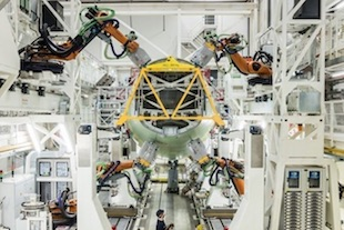 Airbus passe aux robots