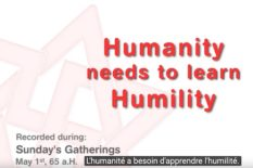 apprendre l'humilité