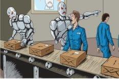 robotisation et suppression d'emplois