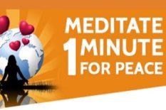 Soutien au Maire pour la Paix - Des méditations pour la Paix face au terrorisme viral actuel qui utilise l'intimidation, la violence pour créer un climat de peur pendant le confinement