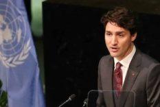 Trudeau exemple d'humanité face à la tragédie palestinienne.