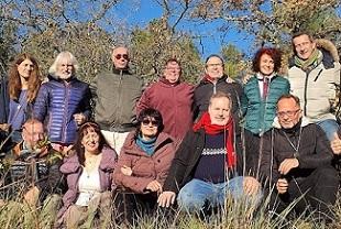Rassemblement du 13 Décembre vibration de paix et d'amour 2 Baptêmes raéliens en Provence