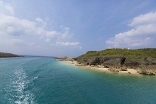 l'île de Kudakajima à Okinawa au Japon