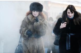 le réchauffement climatique à Moscou ?
