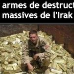 armes de destruction massive de l'Irak