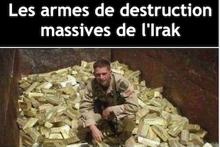 armes de destruction massive de l'Irak
