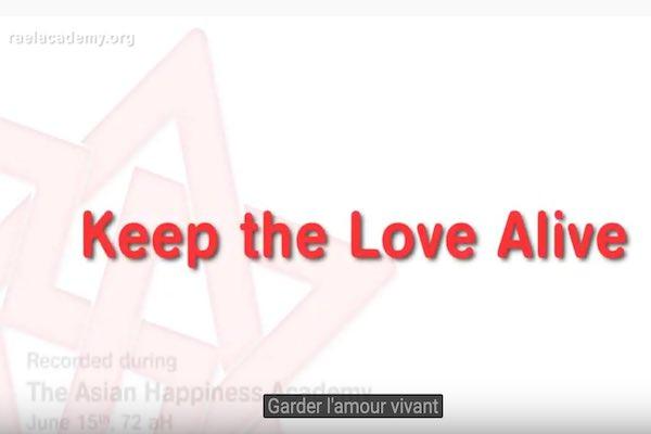 garder l'amour vivant garder un amour vivant amour