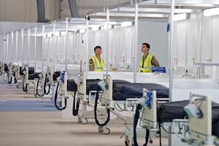 9 hôpitaux d'urgence Covid-19