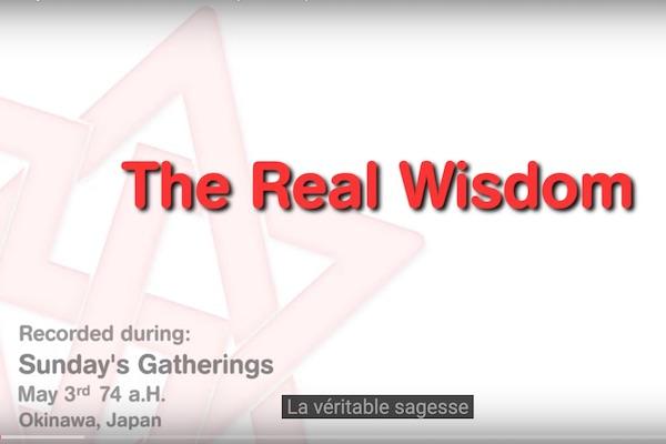 la vraie sagesse