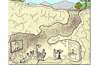 caverne de Platon