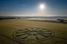 crop circles de Juin 2020
