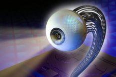 œil artificiel imite la structure de l'œil humain