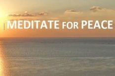 4e Méditation planétaire pour la paix