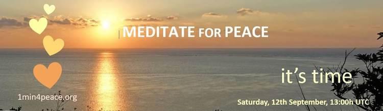 Méditation planétaire pour la paix