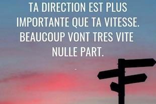 trouver la bonne Direction