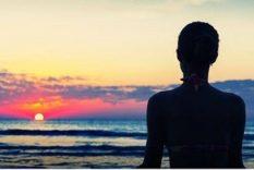 Méditer lors de la Journée de la Paix sur Terre