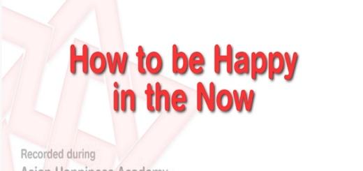 heureux dans l'instant