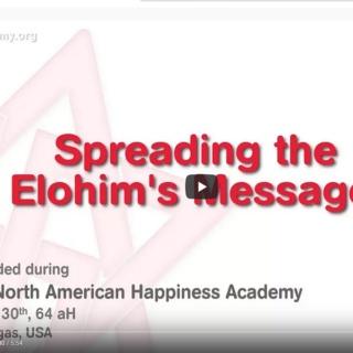 Diffuser le Message des Elohim