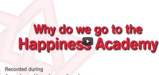 Pourquoi venir à l'Académie du Bonheur