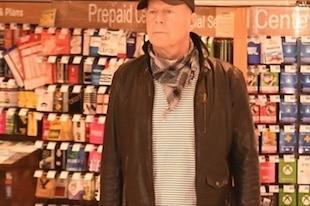 Bruce Willis sans masque