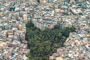 Guangzhou, Chine, illustration de la surpopulation ?