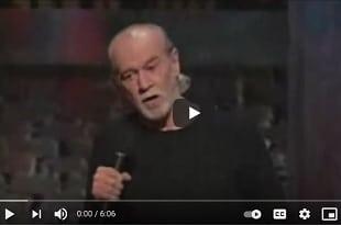 George Carlin : La peur des microbes
