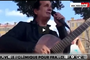Francis Lalanne embrassez-vous