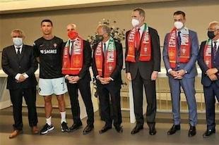 Ronaldo sans masque