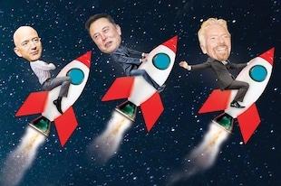 aller dans l'espace